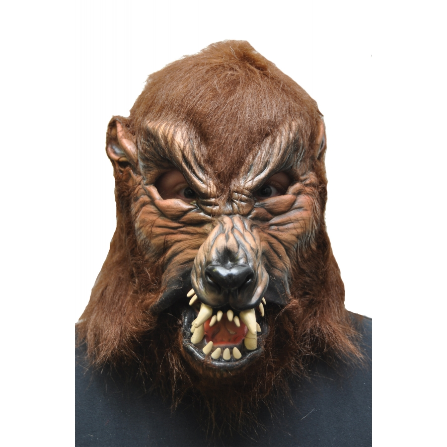 HOWL O WEEN LATEX MASK