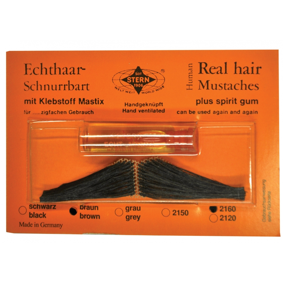 MUSTACHE REAL HAIR ITAL BRN