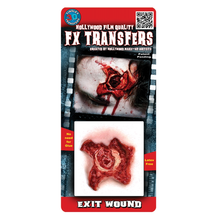 EXIT WOUND 3 D PROF TATTOO