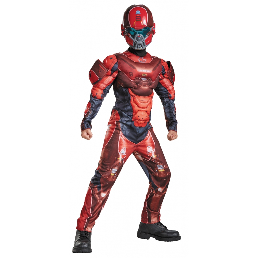 RED SPARTAN MUSCLE CHILD 4 6