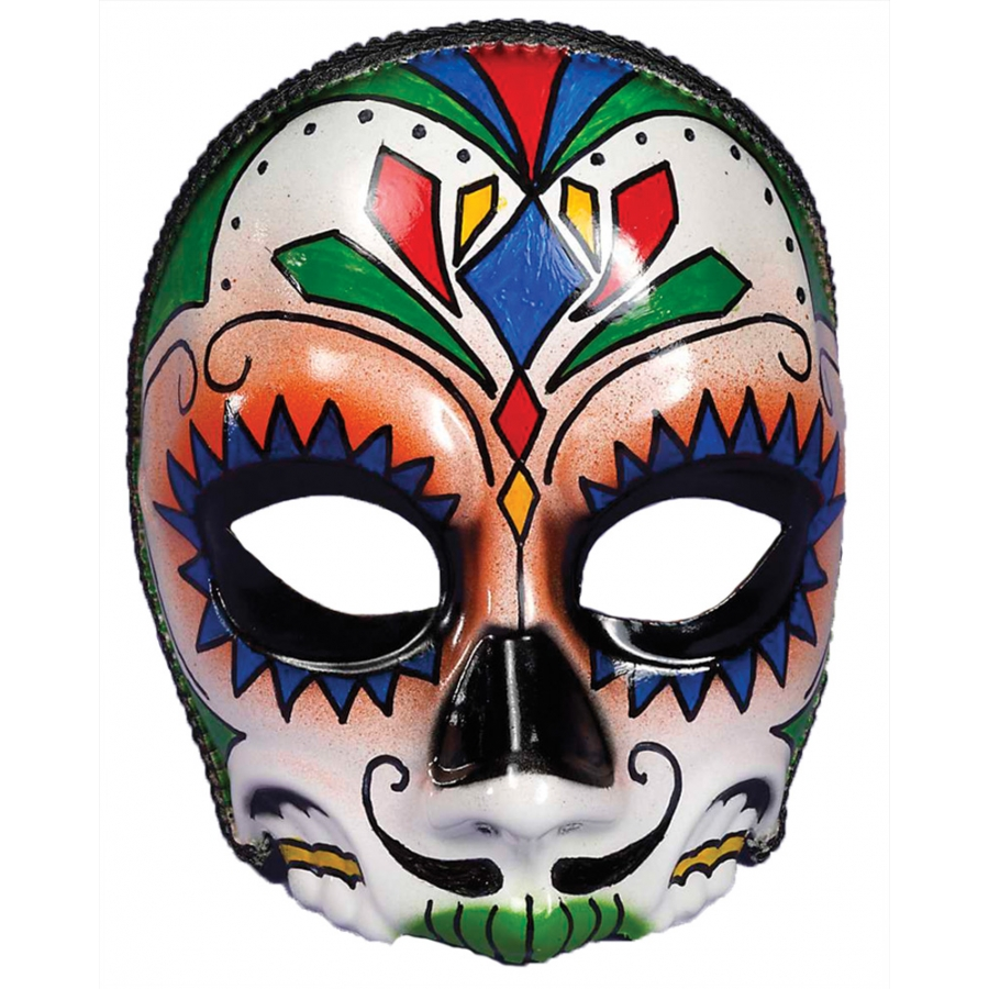 DAY OF DEAD MALE MASK