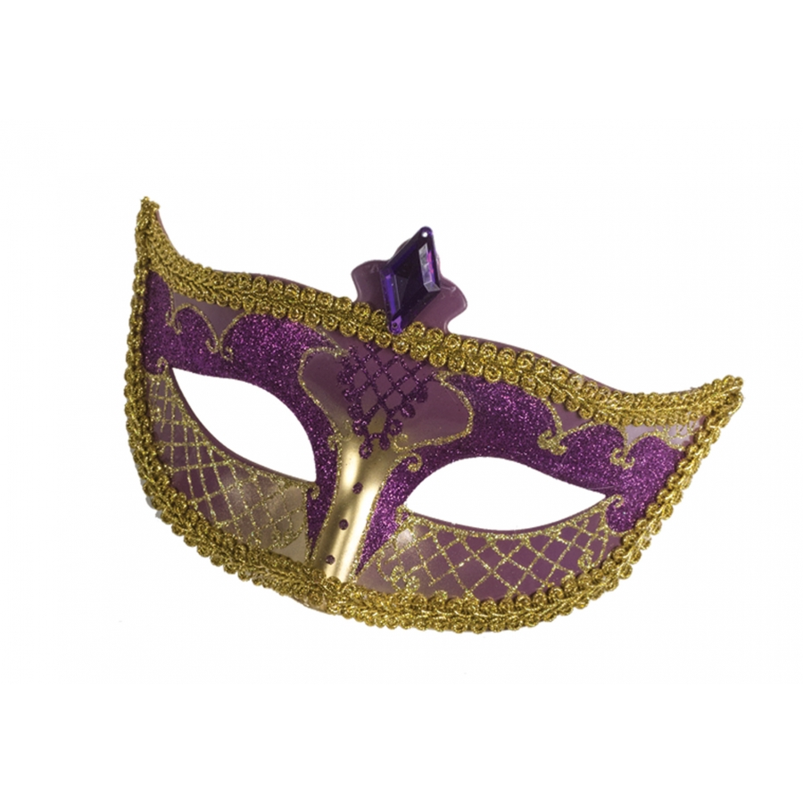CARNIVAL MASK NO FEATHER PR