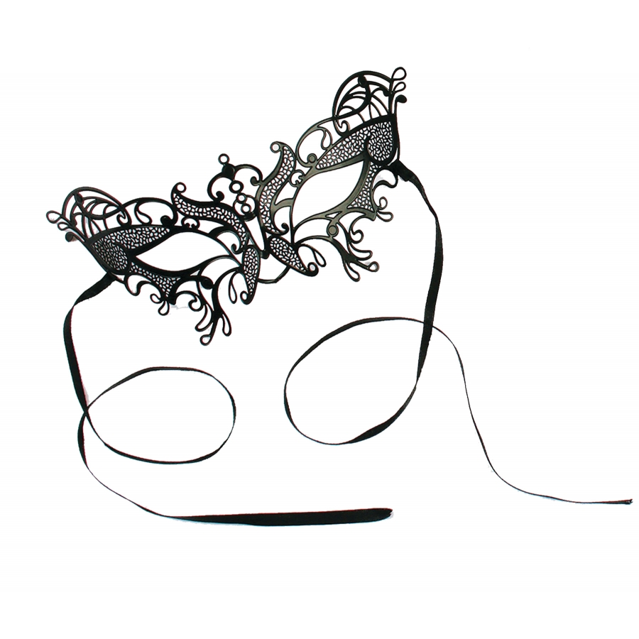 BUTTERFLY LASER CUT MASK SMALL