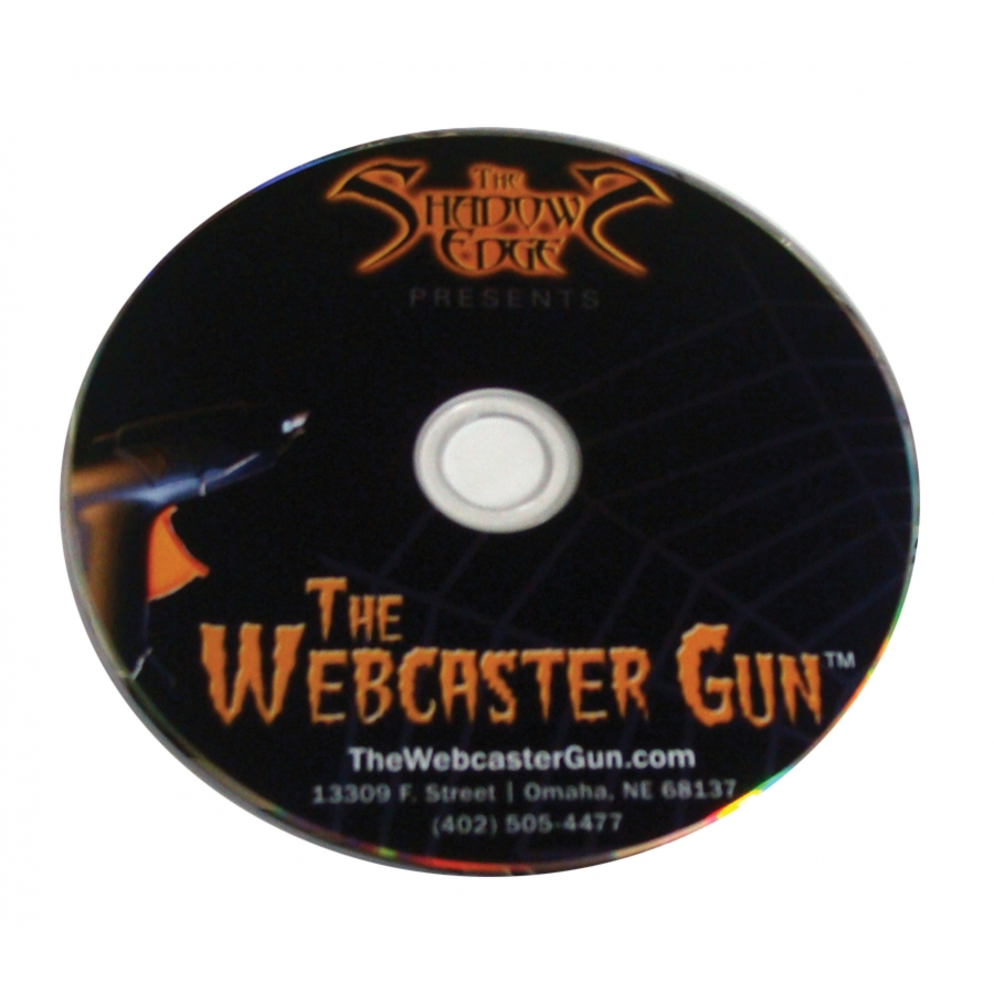 WEBCASTER GUN DVD THE