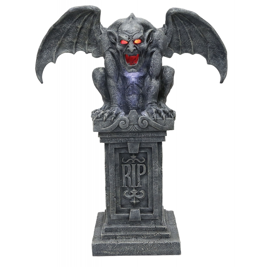 GARGOYLE STONE W SOUND/LIGHTS