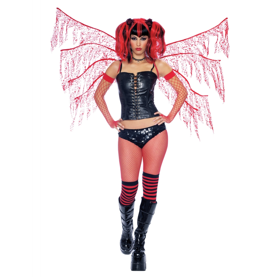 DARK NYMPH WINGS RED