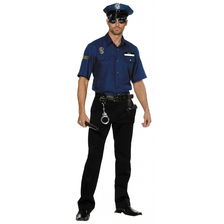 POLICEMAN YOURE BUSTED XL