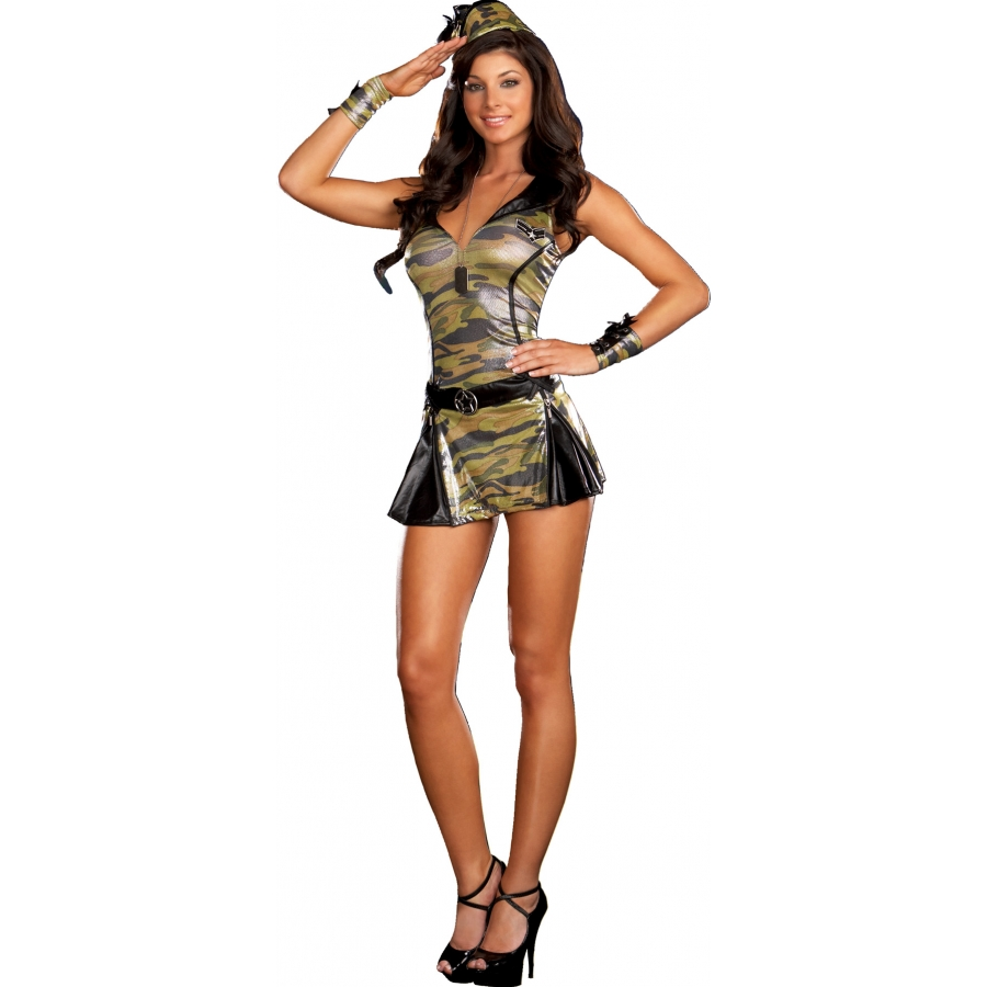 SERGEANT SASSY MED. SIZE 6-10