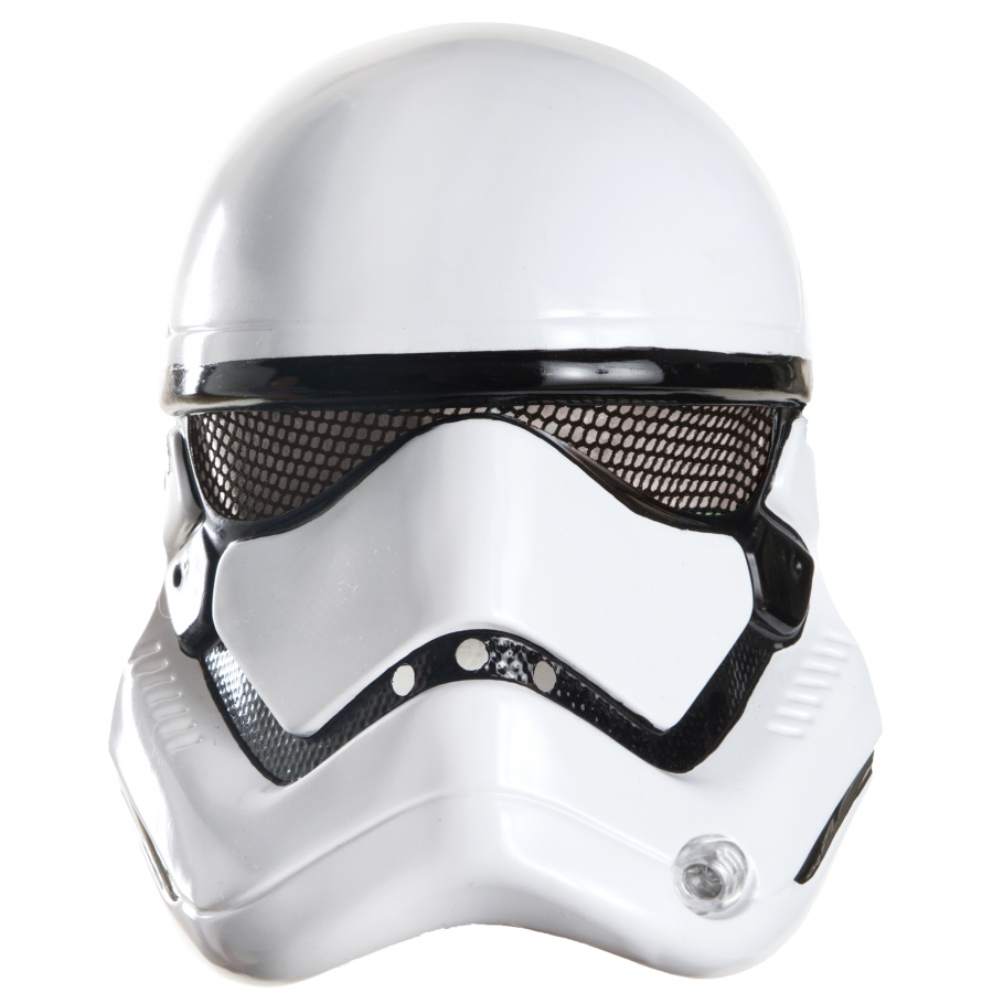 STORMTROOPER 1/2 MASK ADULT
