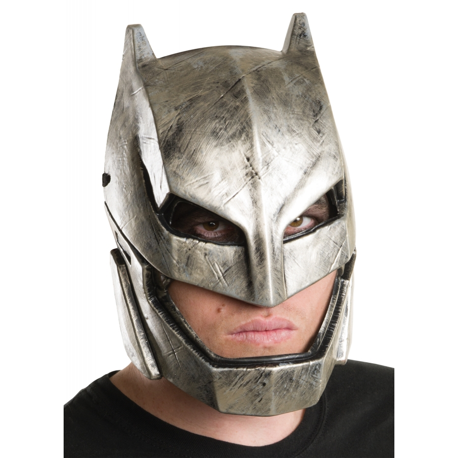 DOJ BATMAN ADULT ARMD 1/2 MASK