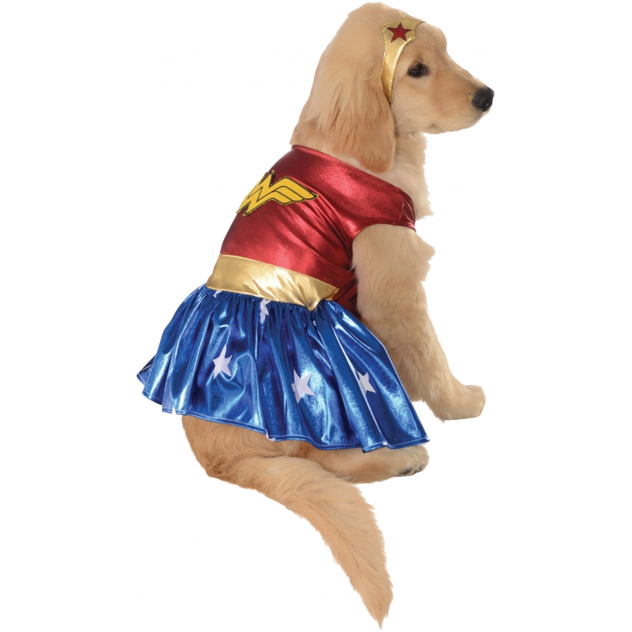 PET COSTUME WONDER WOMAN XLG