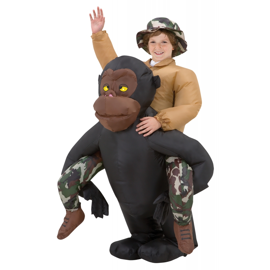 RIDING GORILLA KIDS INFLATABLE