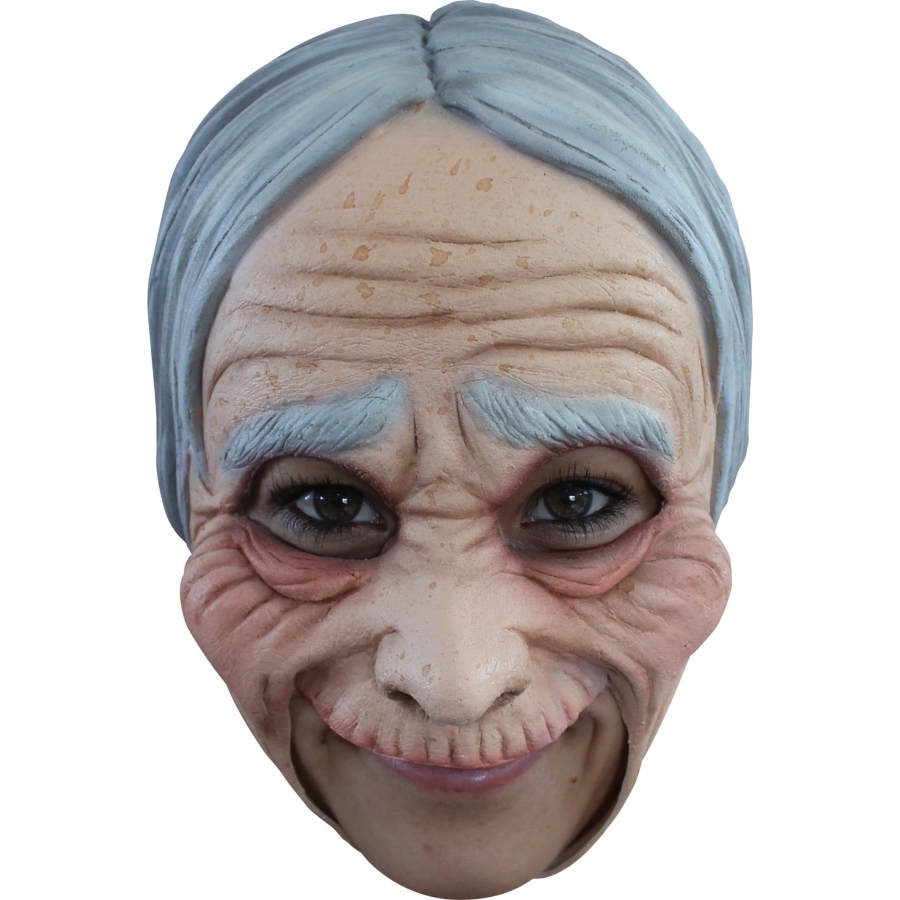 OLD LADY ADT CHINLESS ADT MASK