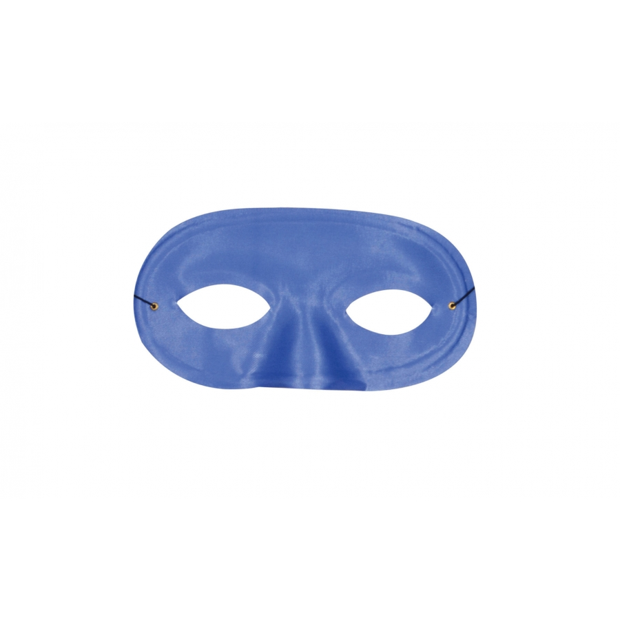 HALF DOMINO MASK BLUE