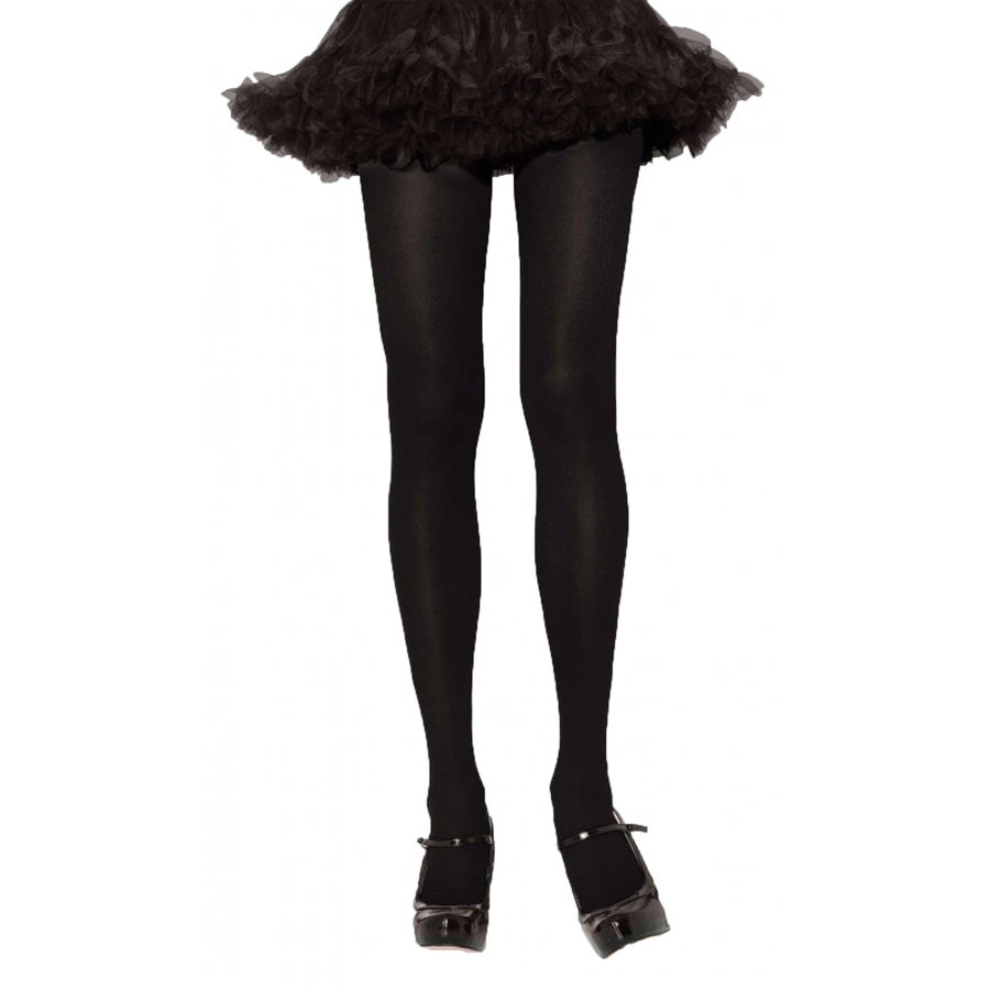 TIGHTS ADULT BLACK 1 SIZE