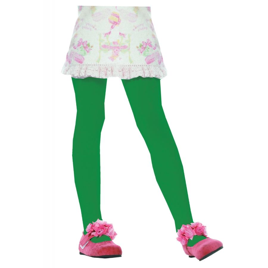 TIGHTS CHILD GREEN SMALL 1 3
