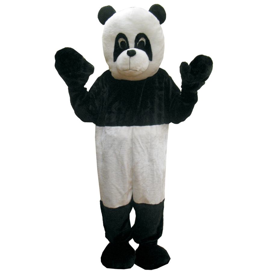 PANDA MASCOT ADULT ONE SIZE
