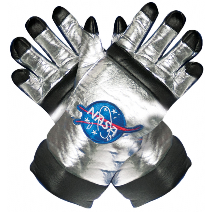 ASTRO GLOVES CHILD SILVER