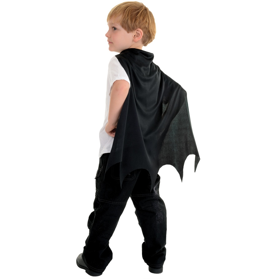 CAPE CHILD BLACK BAT