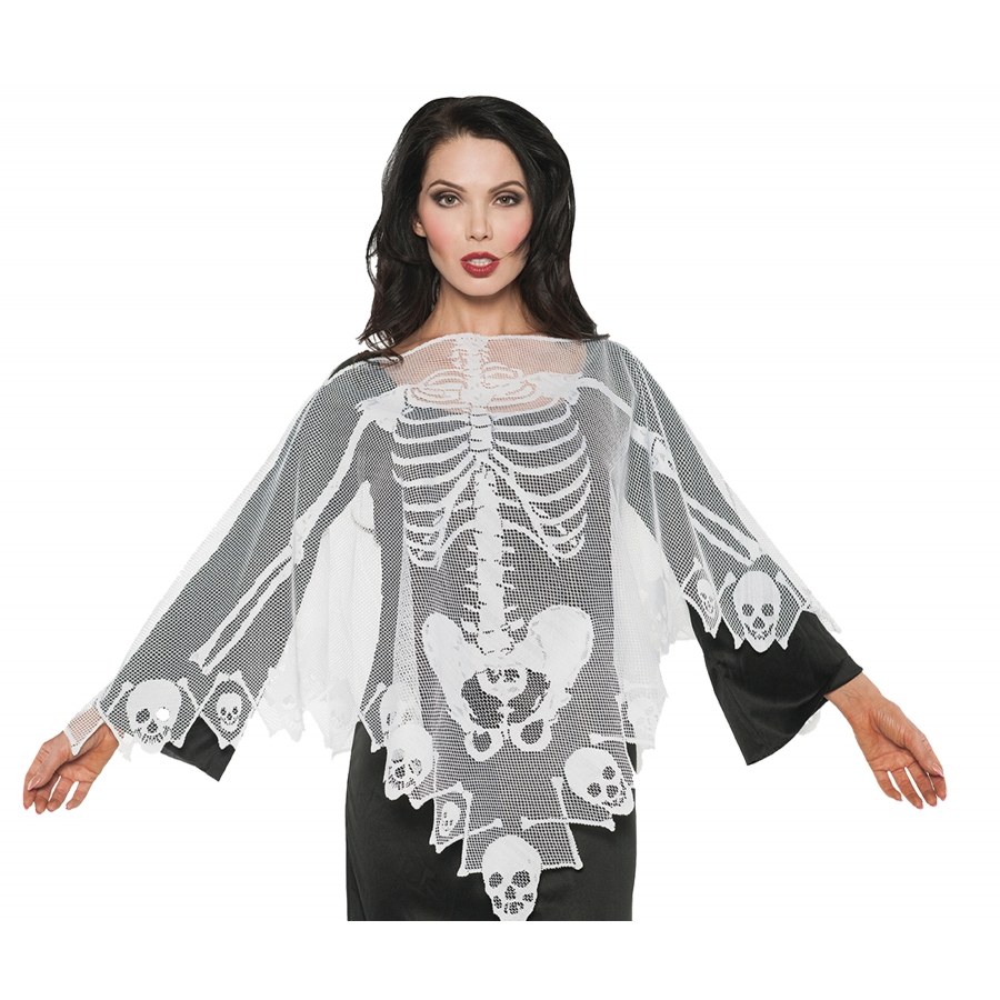 PONCHO LACE SKELETON