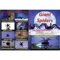 DVD GIANT SPIDERS CRAWLING