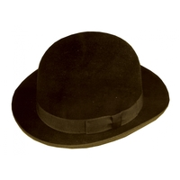 DERBY FELT QUAL BROWN MED