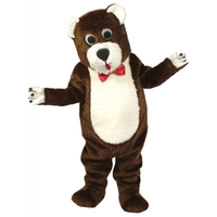 TEDDY BEAR MASCOT AS PICTURED