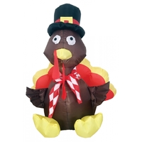 INFLATE TURKEY 4 FT LED LIGHT