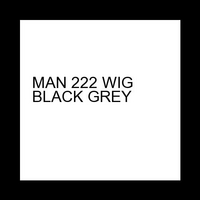 MAN 222 WIG BLACK GREY