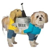 DOG BEER KEG MEDIUM LARGE