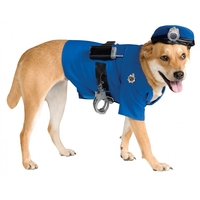 PET POLICE COSTUME MEDIUM