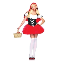 RED RIDING HOOD RACY MD/LG