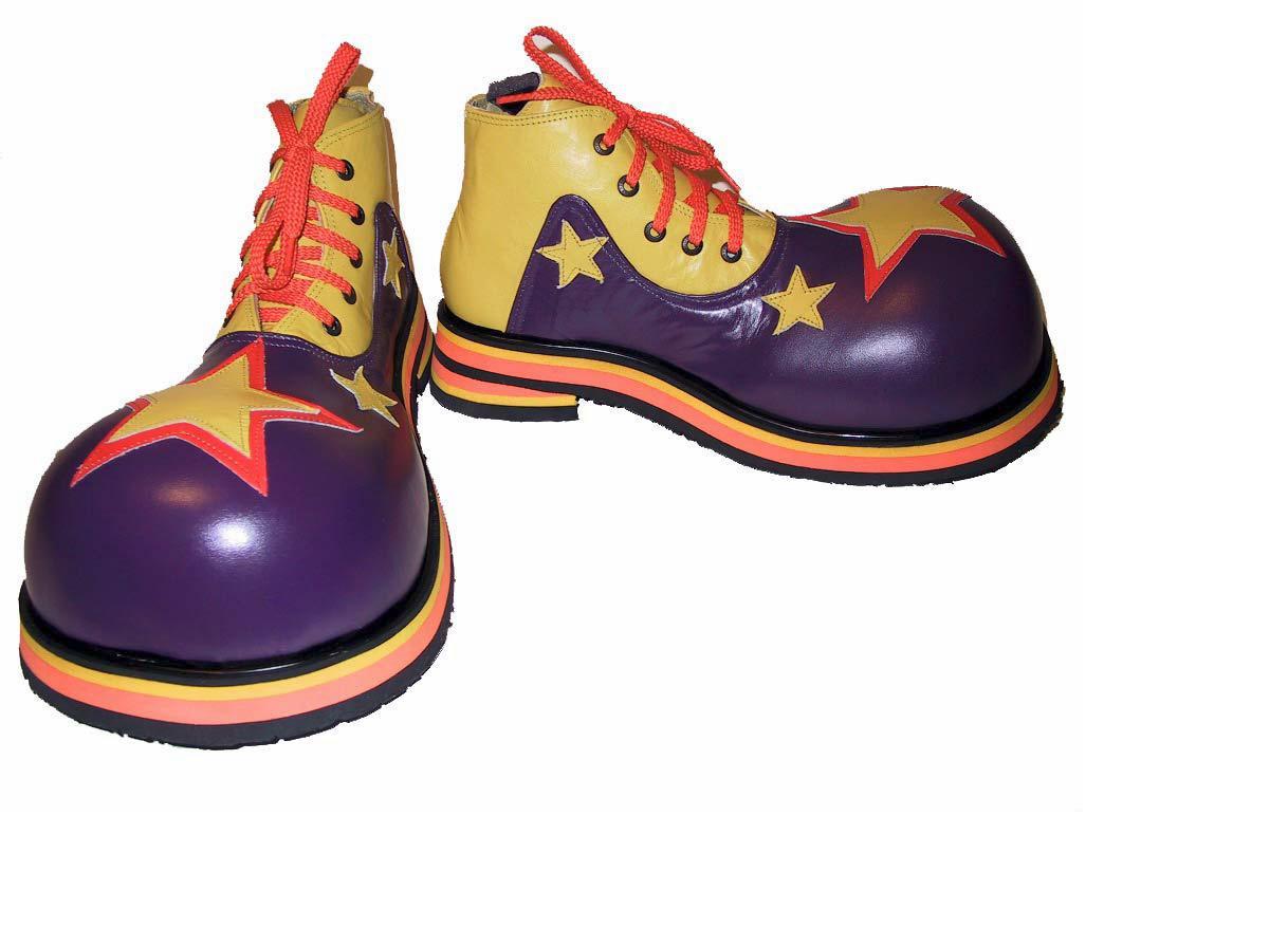Ботинки клоуна своими руками
